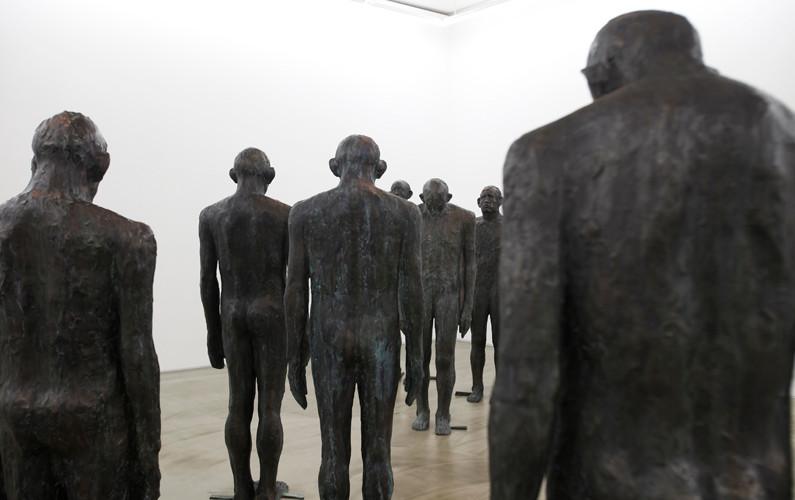 Installation view of solo exhibition, Allusion, Gallery Simon, 2013