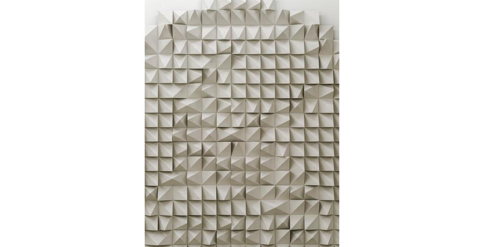 Silent Crane, 2021, EVA foam, 210 x 210 x 10cm (detail)