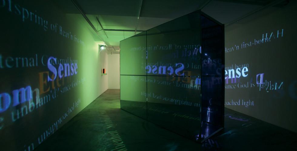 Installation view of solo exhibition, The Luminous Poem, Gallery Simon, Seoul, 2011