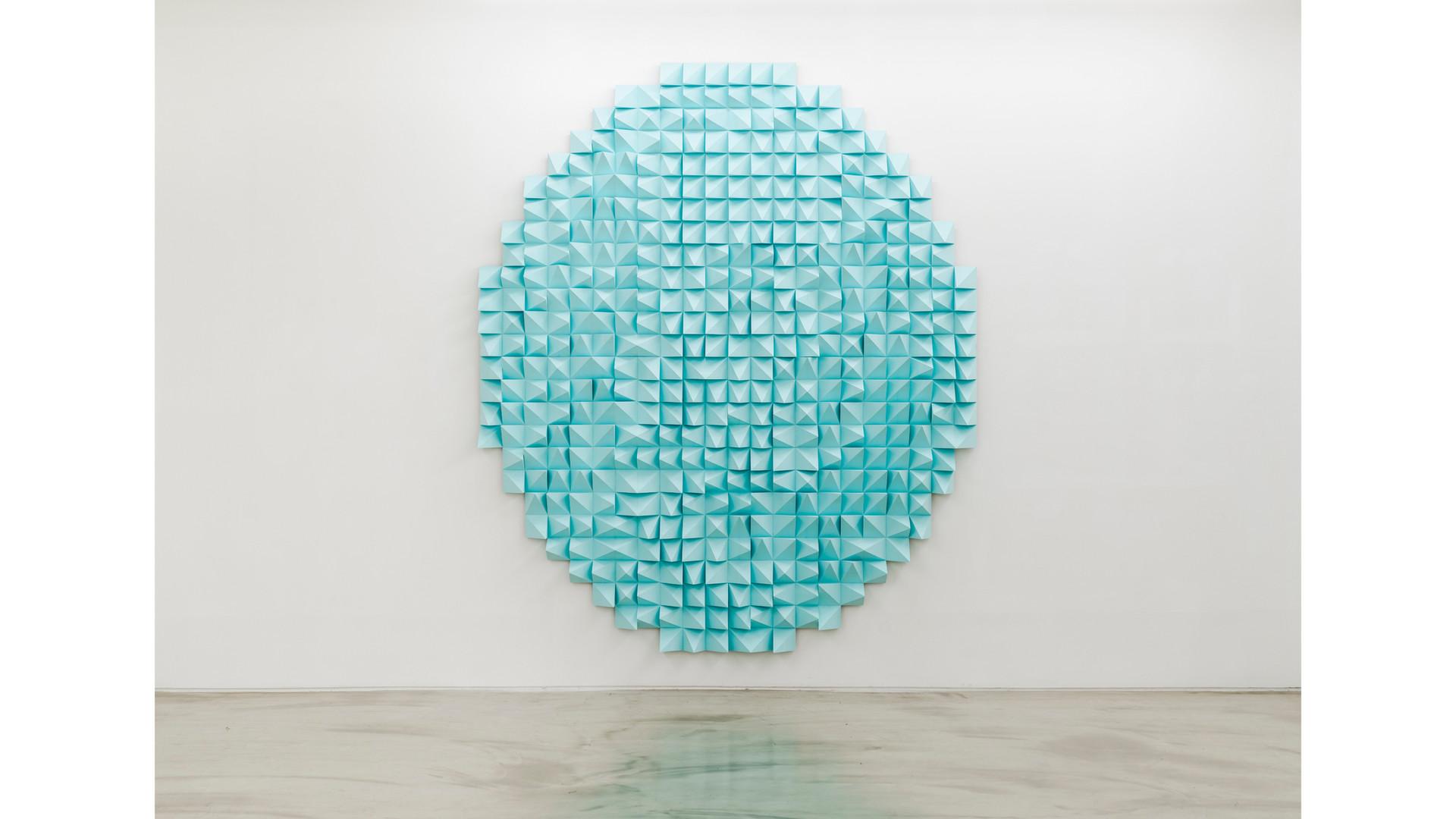Silent Franklin-II, 2021, EVA foam, 420 x 180 x 10cm