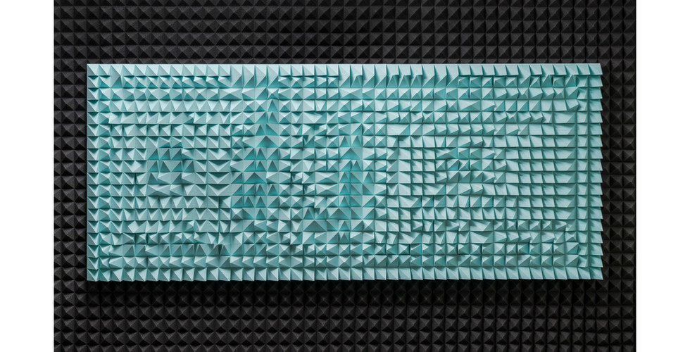 Silent Franklin-I, 2021, EVA foam, 200 x 85 x 5cm