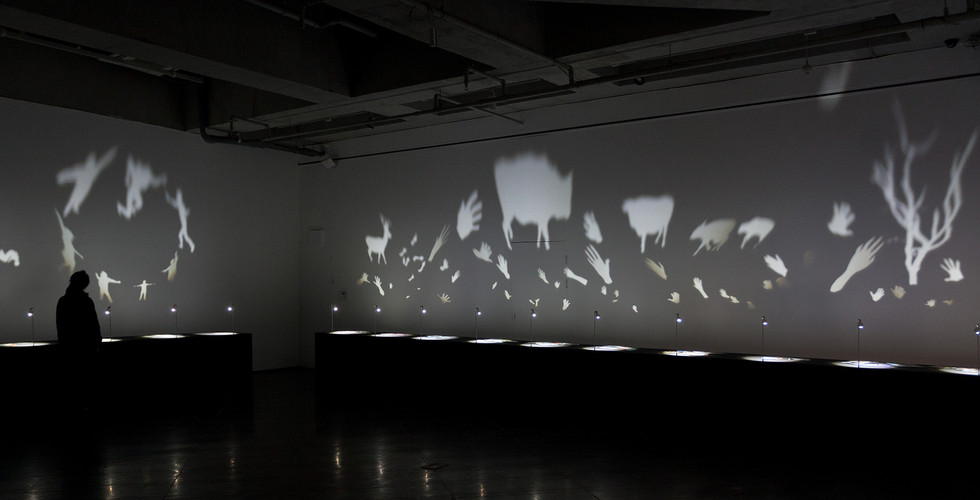 Installation view of solo exhibition, Other Selves, Alternative Space Loop, 2012