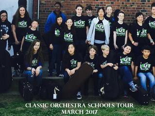 Schools Tours a Success
