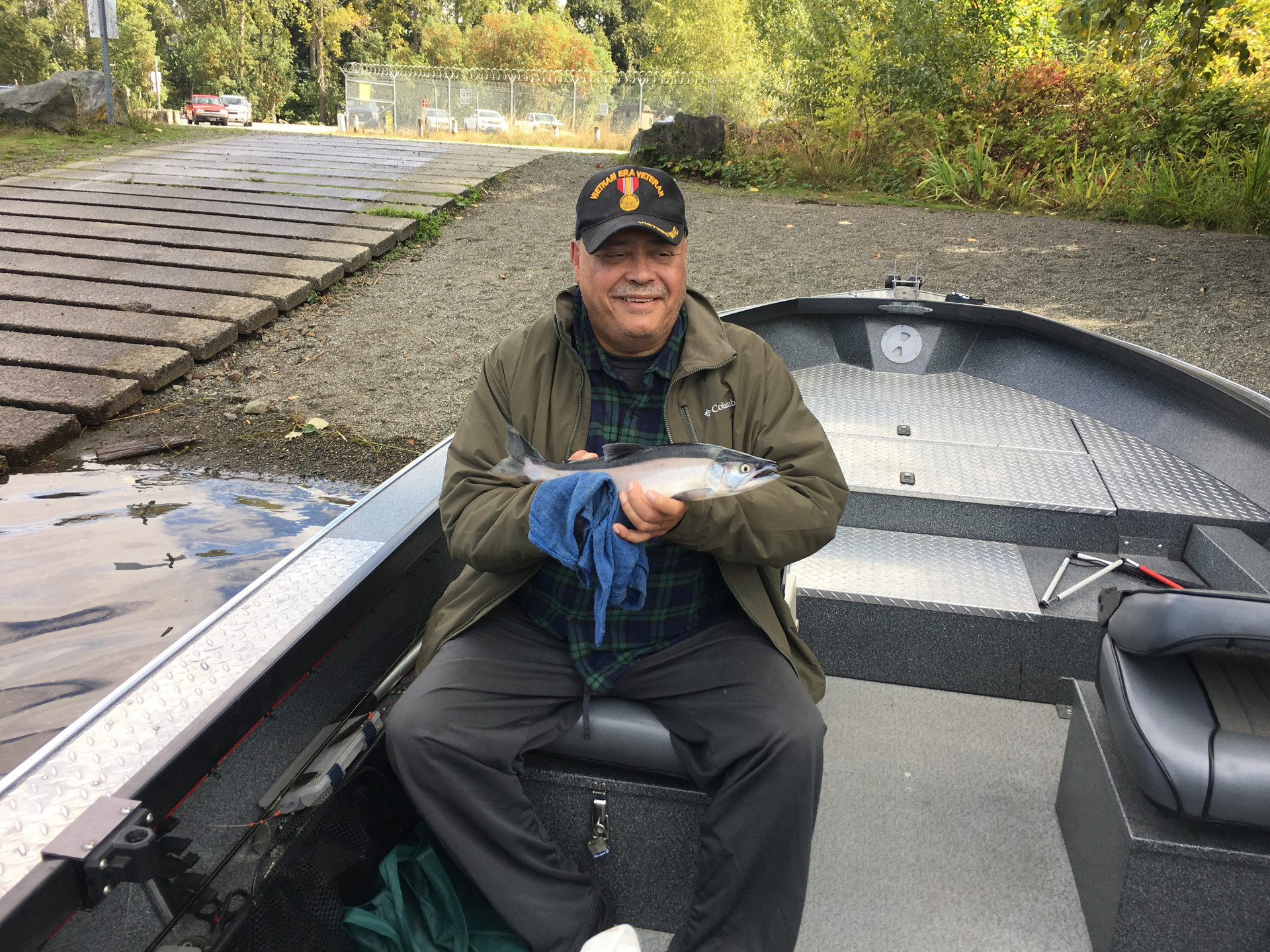 Ernie on the Cowlitz