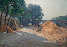Henri Pailler, artist, for sale, impressionist, Paris