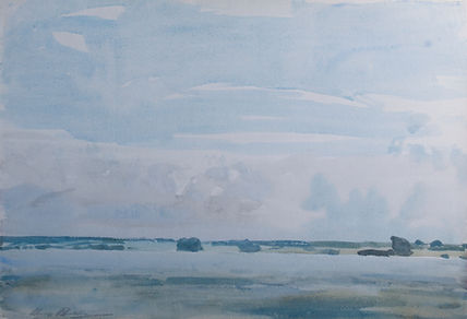 Harry Becker artist for sale pictures paintings Wenhaston Suffolk Colchester watercolour
