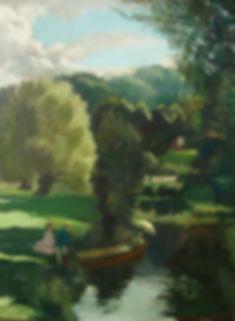 Nicholas Holloway Doris Zinkeisen artist for sale Modern British paintings
