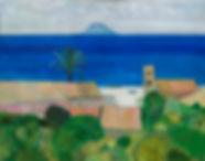 Rene Genis, artist, for sale, paintings, stromboli, sicily