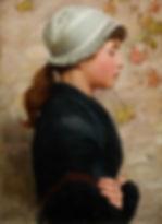 Nicholas Holloway Frederick Brown artist for sale paintings Newlyn School paintings