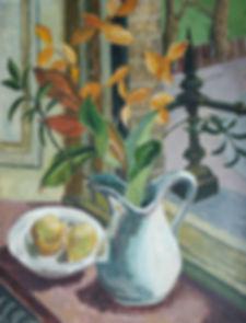 Priscilla Hanbury artist for sale paintings still life modern british