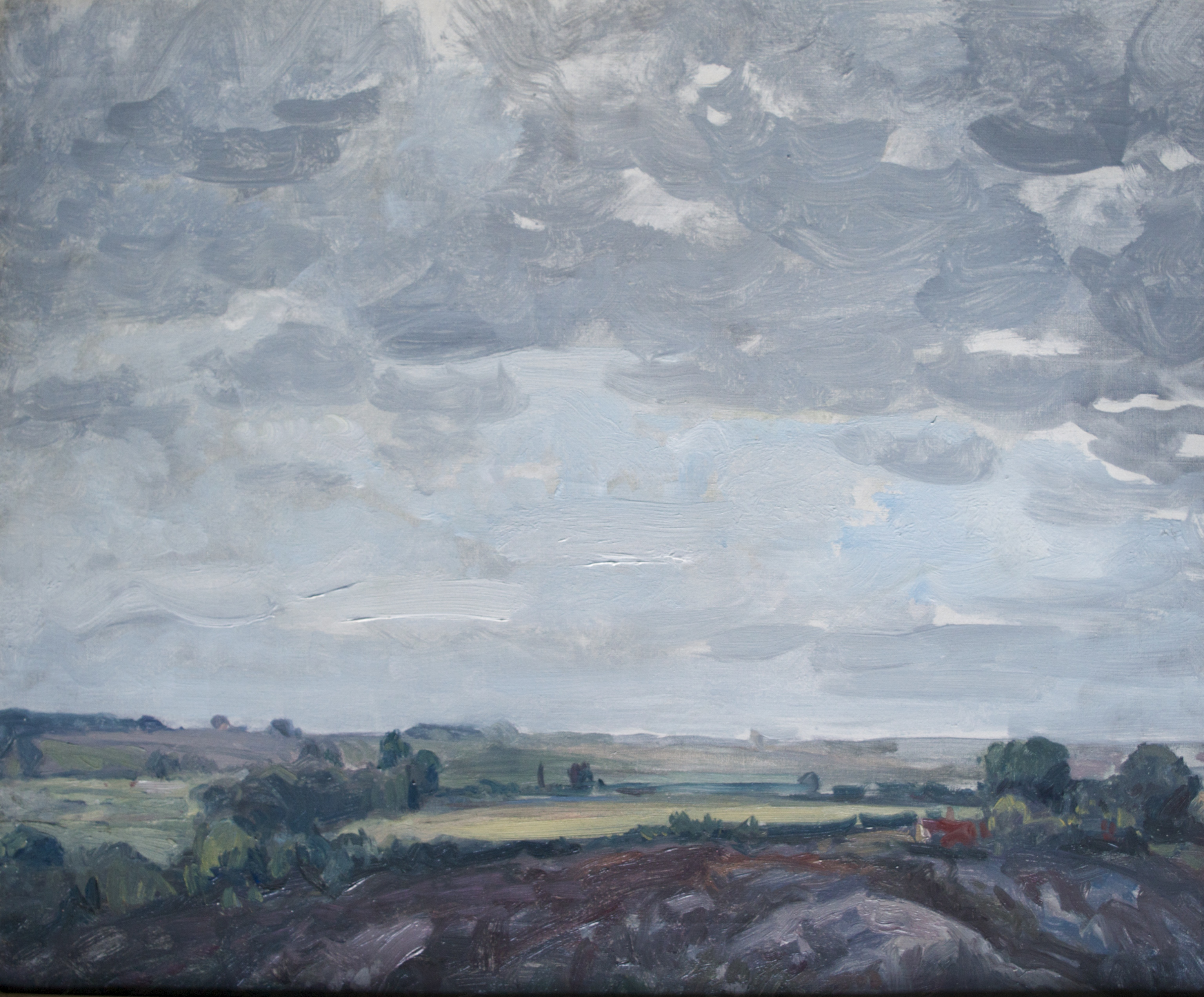 🔺Suffolk Sky, oil