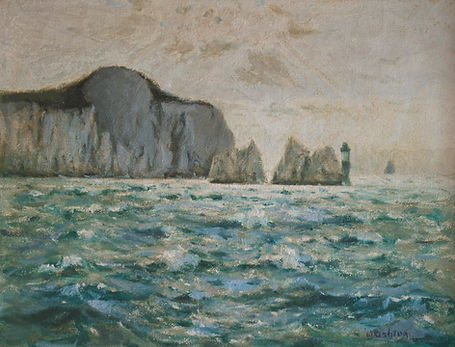 Nicholas Holloway Sir John William Ashton artist sale the needles julius olsson paintings