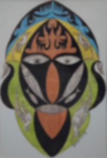 Scottie Wilson, artist, painter, for sale, paintings, Royal Worcester