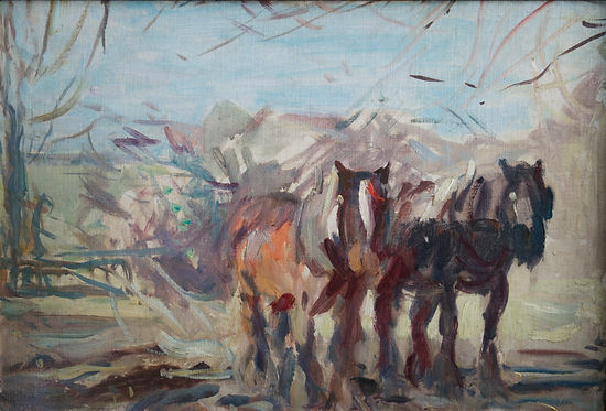 Harry Becker, artist, for sale, oil, paintings, nicholas holloway
