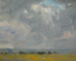 Nicholas Holloway Harry Becker artist Stormy Sky For Sale paintings