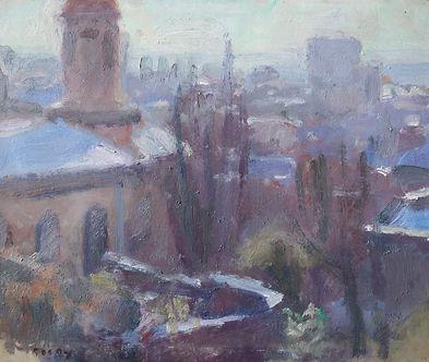 Nicholas Holloway Sargy Mann Original painting for sale, Camberwell School