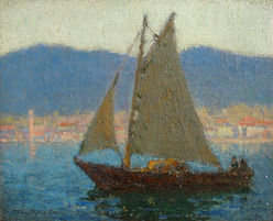 Tom Robertson, artist, for sale, impressionist, scottish, Glasgow