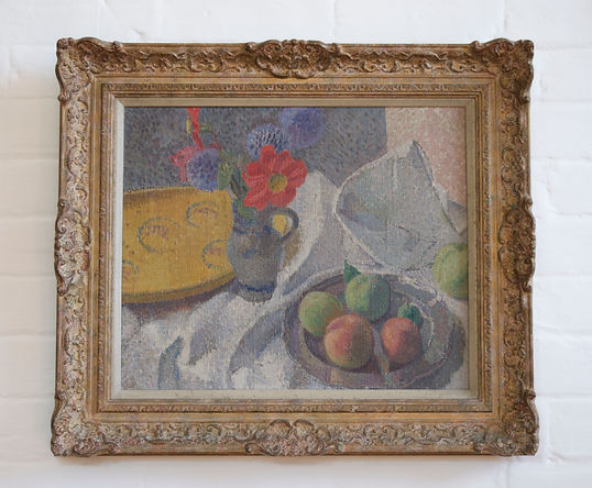 Nicholas Holloway Maria Sophia Ludlow Still Life John Armstrong Paul Cezanne Female artist early 20th Century paintings
