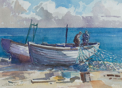Nicholas Holloway James Bruce Lockhart Jamie Walberswick artist sale paintings