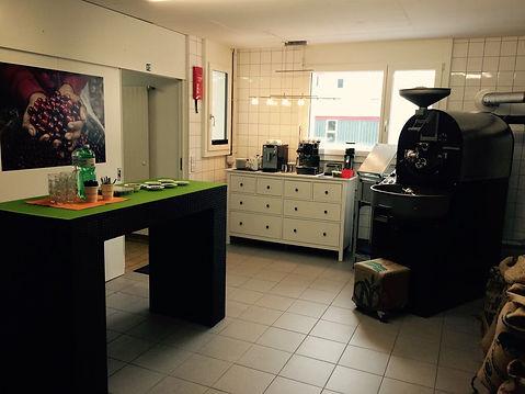 Welt des Kaffe Kurs in der Kaffeerösterei 13/15