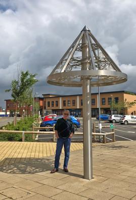 Umbrella sun shield