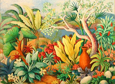 Tropical Lakeside