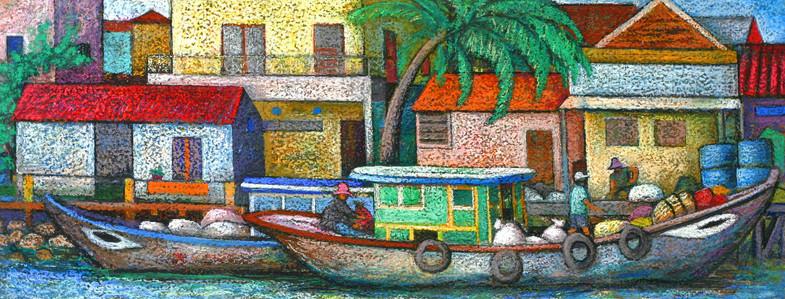 Boats in Vietnam 1