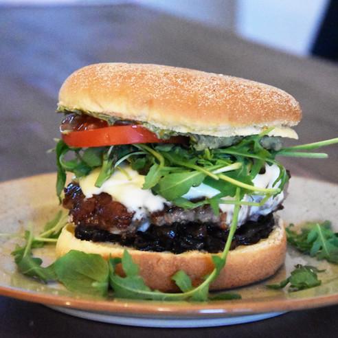"""The """"Italiano"""" Burger"""