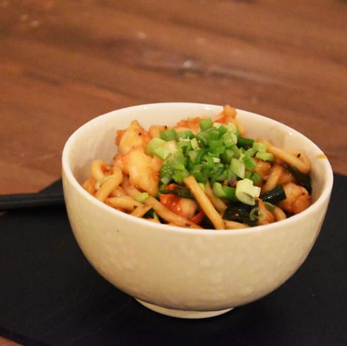 Pepper Shrimp Udon