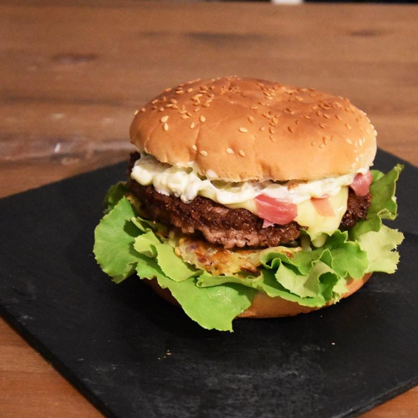 Crowned burger