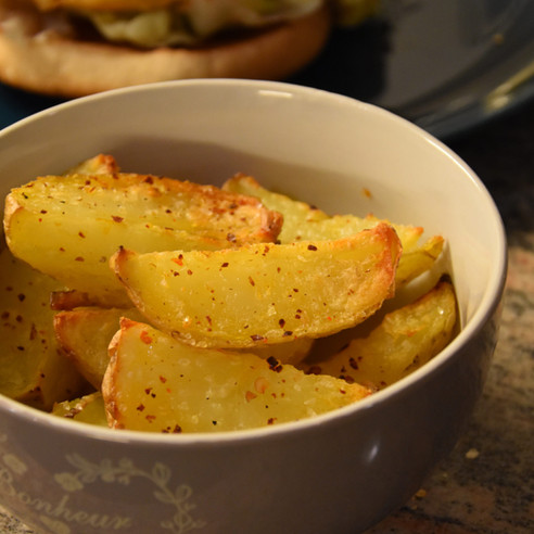 Lazy Potato Wedges