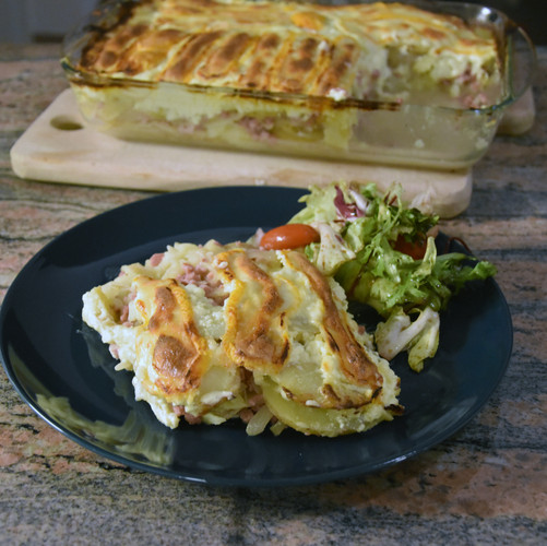 """Tartiflette"" Potato Bake"