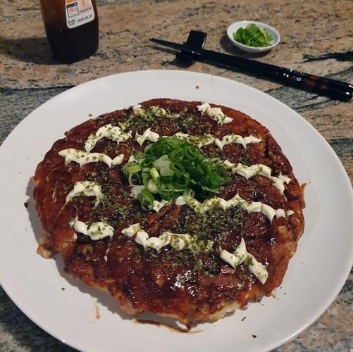 Lazy Okonomiyaki