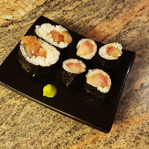 Daitō-style Mackerel Maki Sushi