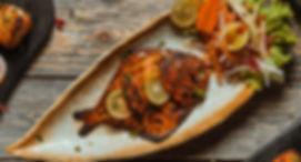 Tandoori Pomfret Indian non vegetarian a