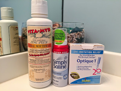 Products I use to flush away allergens!