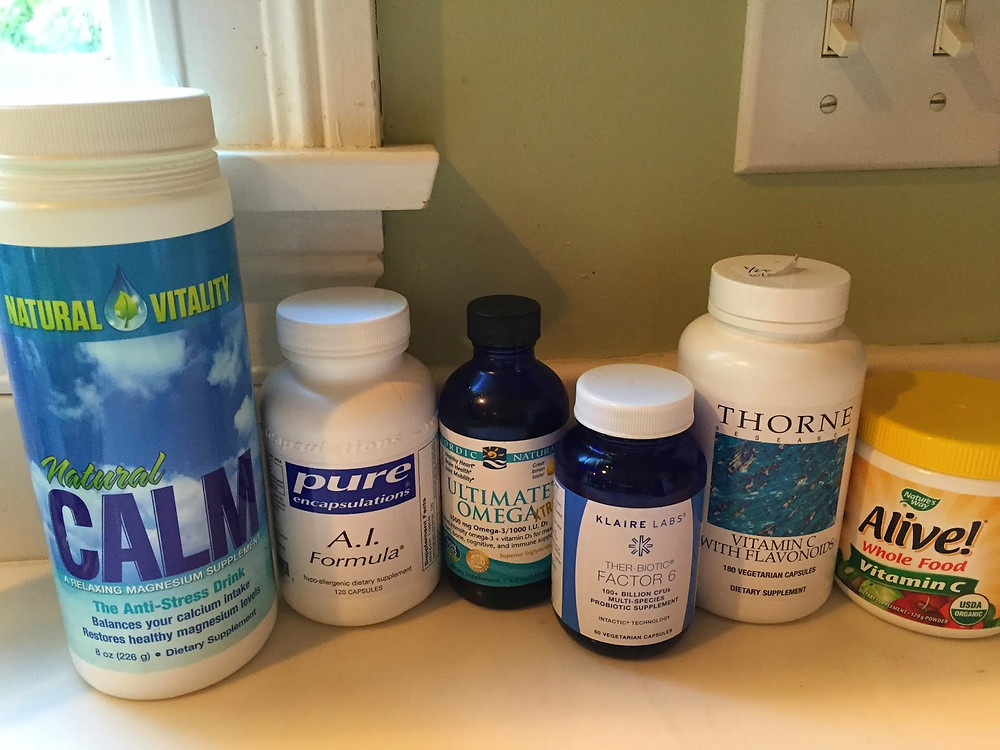 Excellent tools to nourish the body and build a healthy immune response to allergens!