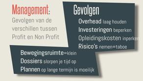 Management: het verschil tussen profit en non profit. Deel 2: gevolgen