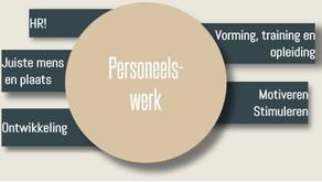 De 4 (5?) kernfuncties van Management: PERSONEELSWERK