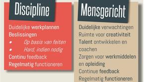 Performance imperative 2: Gedisciplineerd en mensgericht management