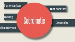 De 5 (4?) kerntaken van Management: COÖRDINATIE
