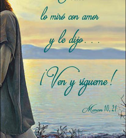 Gesù lo guardò con amore e gli disse...