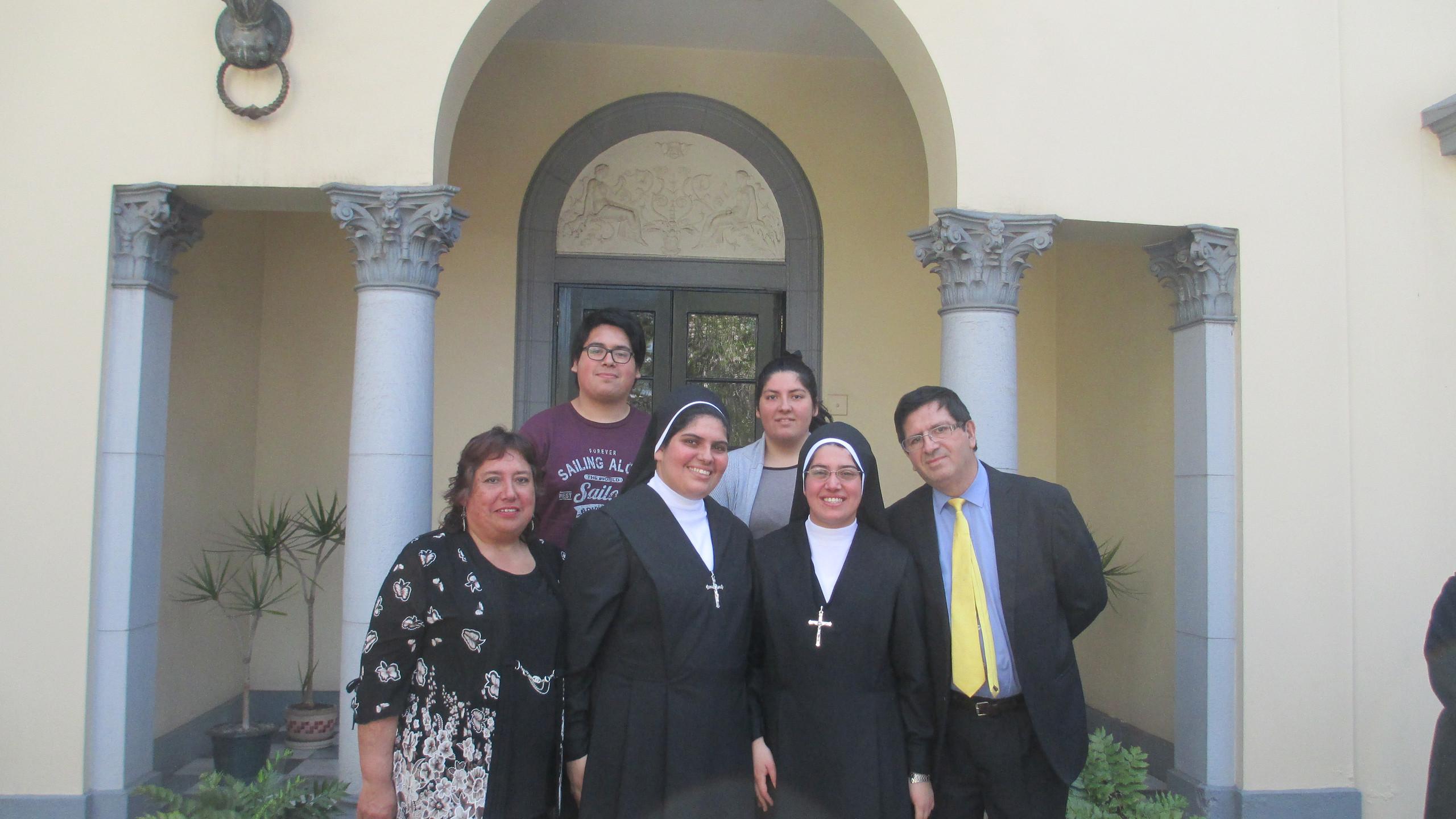 Suor Lucia e la sua famiglia