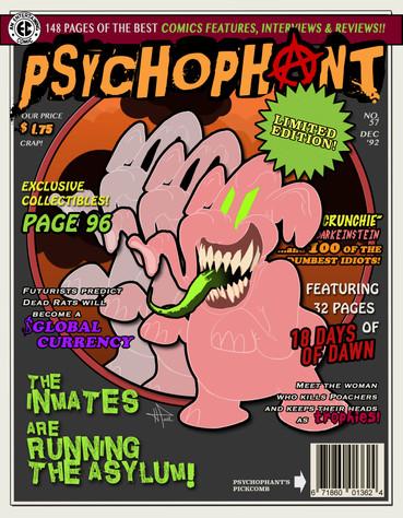 PSYCHOPHANT MAGAZINE COVER -- DRAFT 2 --