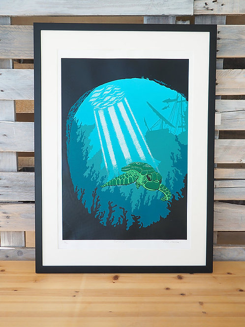 Swimming | A2+ Screen Print