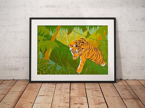 Jungle Boogie | A2 Screen Print