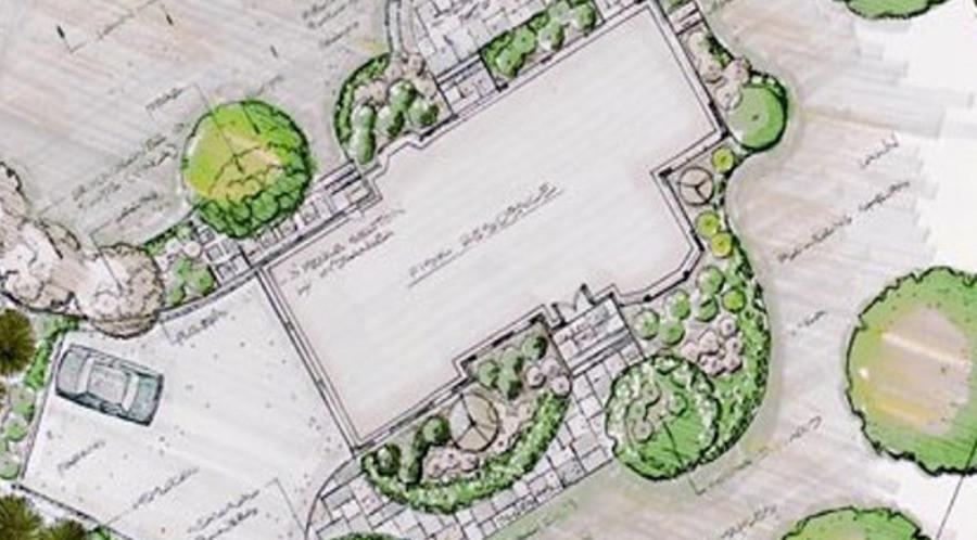 Professional landscape design in rochester, NY.