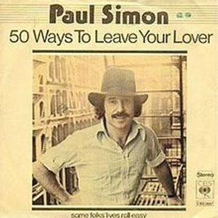50 ways to leave your lover - Paul Simon - Guitar lesson sheets