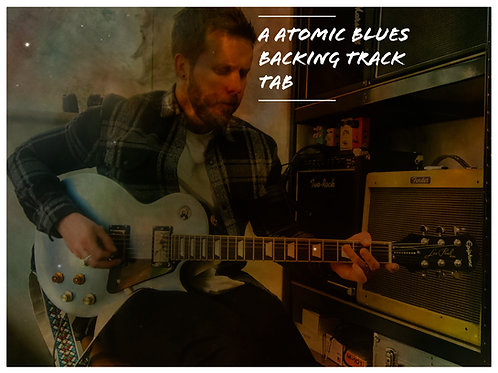 A Atomic blues - TAB/Backing track FREE