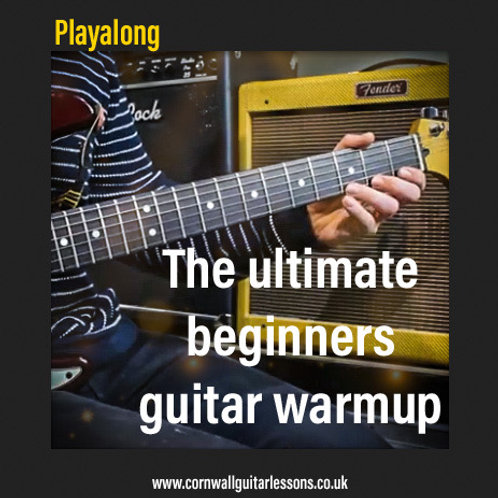 The ultimate beginners guitar workout FREE